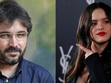 Jordi Évole y Rosalía