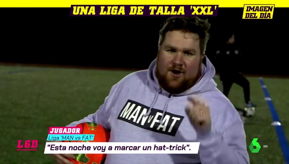 Hombre vs grasa: la liga de fútbol que pretende combatir la obesidad