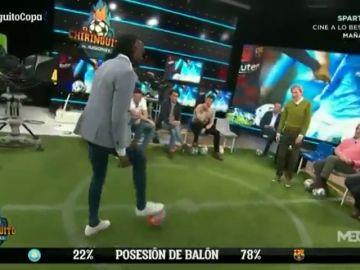 Cara a cara 'didáctico' entre Javi Balboa y Lobo Carrasco por el estilo del FC Barcelona de Quique Setién