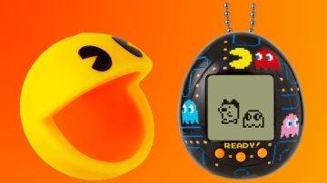 La funda de Pac-Man y el Tamagotchi