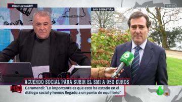 """Antonio Garamendi valora la subida del salario mínimo: """"Hemos llegado al punto de equilibrio"""""""