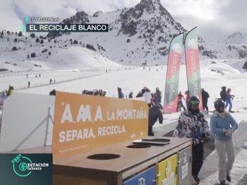 El reciclaje llega a las estaciones de esquí: así han conseguido triplicar los envases reciclados en solo un mes