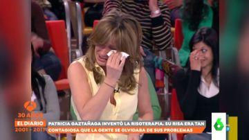 De la carcajada al llanto: Zapeando recoge los 'míticos' ataques de risa de Patricia Gaztañaga en 'El Diario de Patricia'