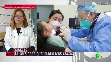 La doctora María José Pereira, jefa de Medicina Preventiva en el CHUAC