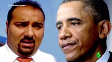 Sinaí Giménez y Obama