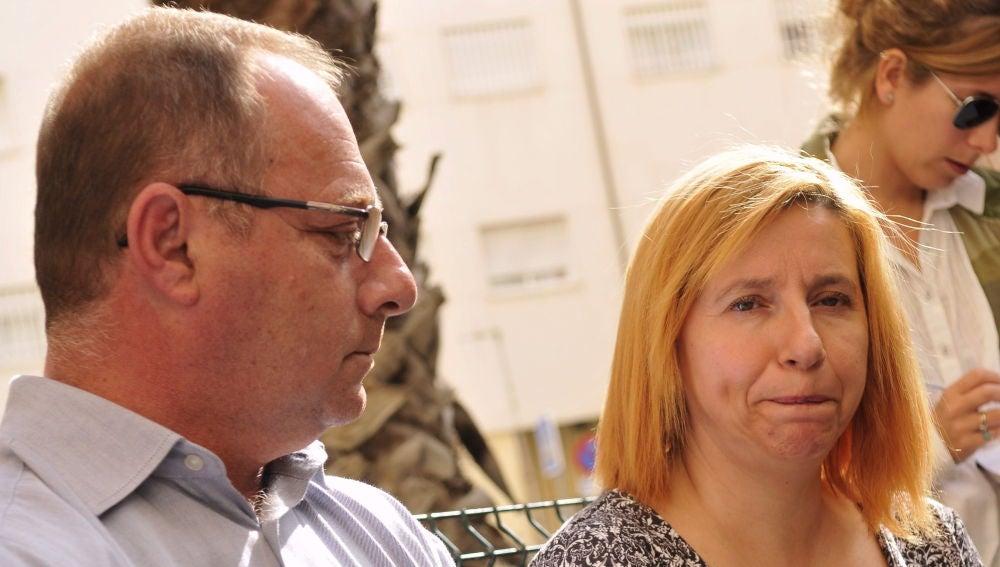 Los padres de Marta del Castillo, Antonio del Castillo y Eva Casanueva