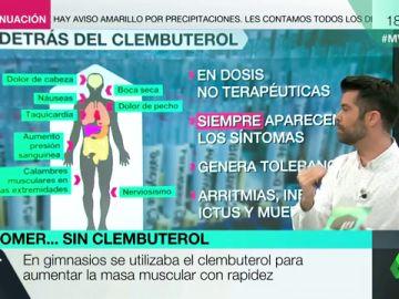 """Los peligrosos efectos secundarios del Clembuterol: """"Literalmente nos estamos jugando la vida"""""""