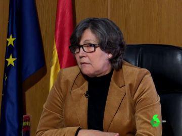 La alcaldesa de Porriño