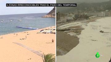Los destrozos del temporal Gloria, a vista de pájaro: así ha quedado el Litoral Mediterráneo