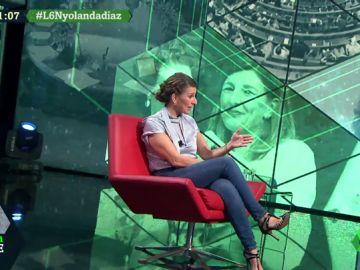 """Yolanda Díaz denuncia la precariedad laboral: """"Ya es una forma de vida, no pueden ser el abuso de la contratación"""""""