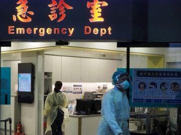 Imagen de archivo de un hospital en China.