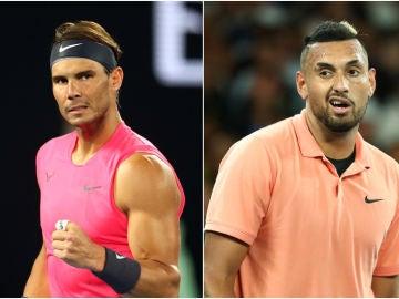Rafa Nadal y Nick Kyrgios, duelo en octavos de final del Open de Australia