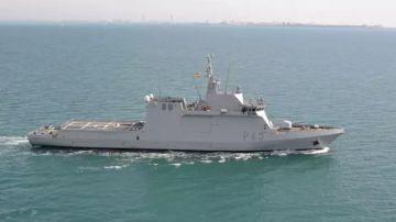 Imagen de archivo del buque 'Relámpago' de la Armada española.