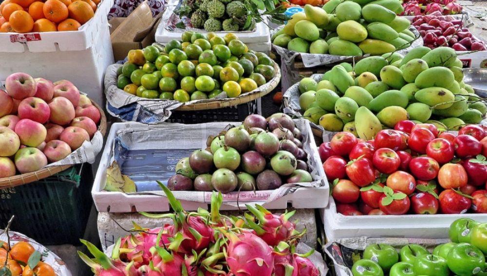 Imagen de cajas de frutas