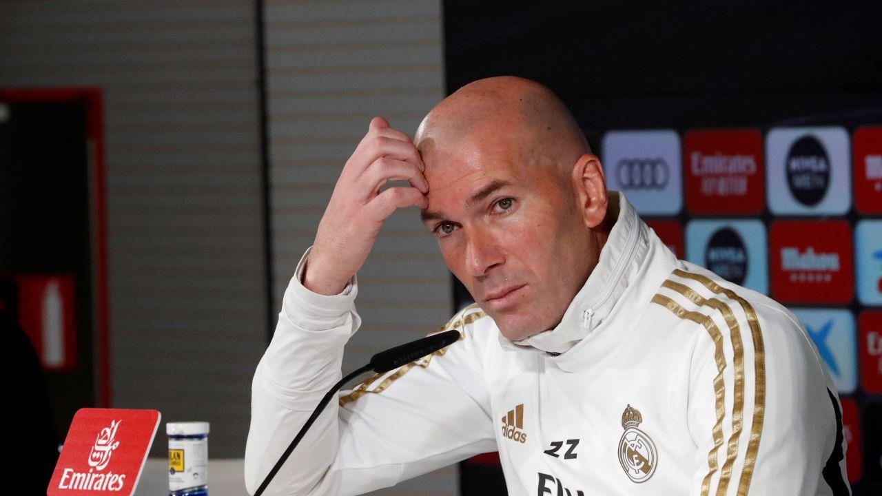 Zidane comparece ante los medios de comunicación