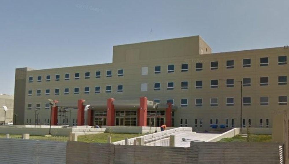 Hospital donde estuvo ingresado el menor en San Juan, Argentina