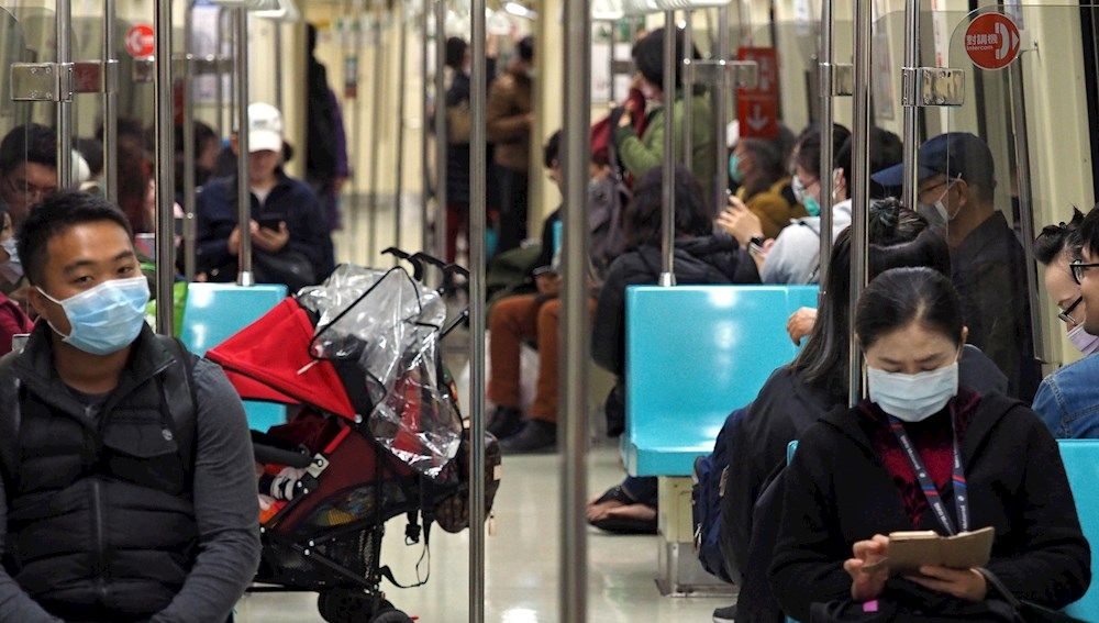 Imagen del metro de Taiwán