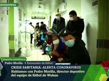 """Pedro Morilla, español atrapado en Wuhan por el coronavirus: """"Han bloqueado la ciudad por tierra y por aire"""""""