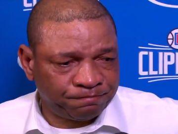 Doc Rivers recuerda emocionado a Kobe Bryant