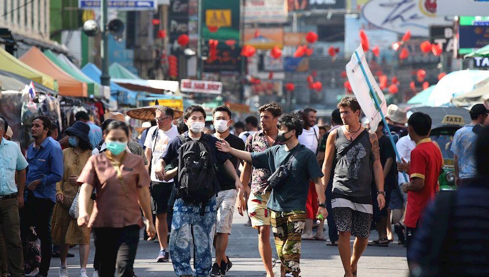 Zona turística de Bangkok