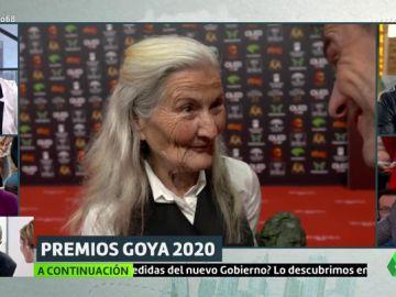 Intrahistoria del momento más 'malagueño' de los Goya: por qué Benedicta Sánchez dijo que estaba 'perita' tras ganar el premio