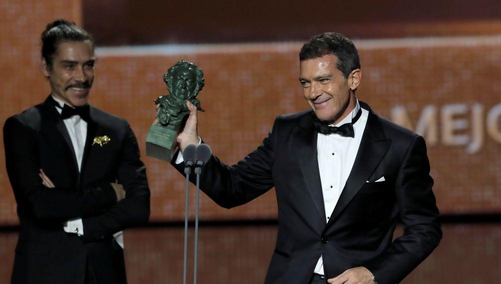 Antonio Banderas, ganador del Goya 2020 a Mejor actor