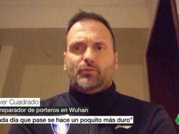 Oliver Cuadrado, español atrapado en China