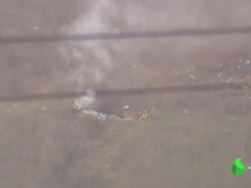 Imágenes del lugar del accidente de helicóptero de Kobe Bryant