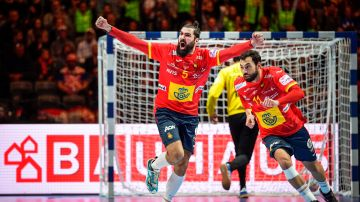 Jorge Maqueda celebra un gol.