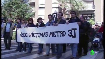 Justicia y verdad 13 años después de accidente del metro de Valencia: así alzaron la voz las víctimas de la tragedia para no caer en el olvido