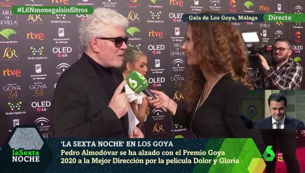 """Pedro Almodóvar, a laSexta Noche: """"Mi corazón y mis ojos están con vosotros cada sábado"""""""
