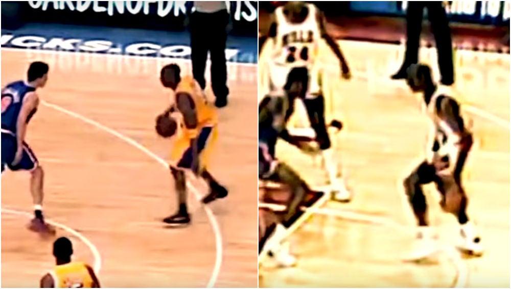Kobe Bryant y Michael Jordan, dos gotas de agua en la cancha