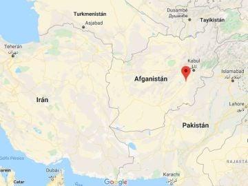 Un accidente aéreo en Afganistán