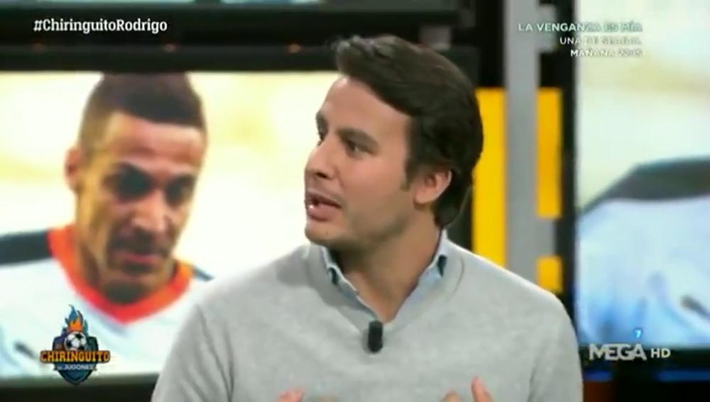 """Juanfe Sanz habla claro en El Chiringuito: """"El Barça ha traicionado a Rodrigo"""""""