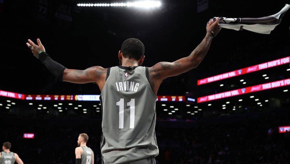 Kyrie Irving, durante un partido de la NBA.