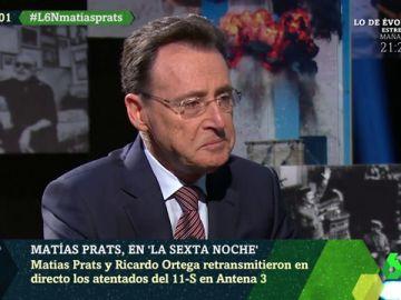 Matías Prats se emociona al recordar a Ricardo Ortega