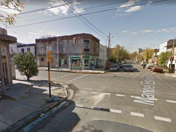 Imagen de un barrio a las afueras de Buenos Aires