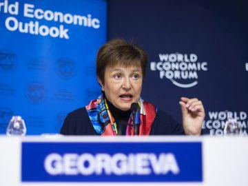 Kristalina Georgieva, directora gerente del Fondo Monetario Internacional