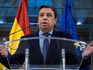Luis Planas en rueda de prensa