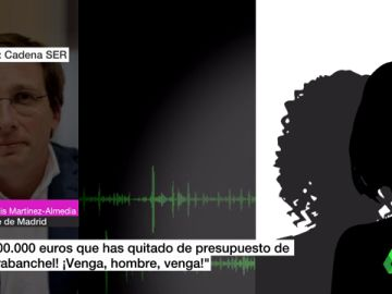 Vecinas de Carabanchel reprochan a Almeida que se gaste dinero en colocar una bandera de España en una rotonda