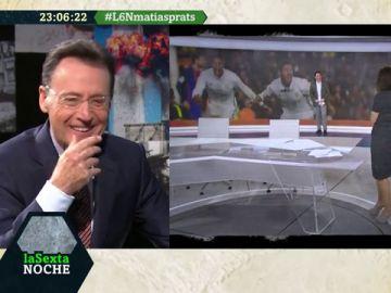 Recopilamos las divertidas reacciones de Matías Prats a los fallos técnicos en los informativos