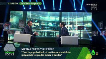 Matías Prats con Iñaki López en laSexta Noche