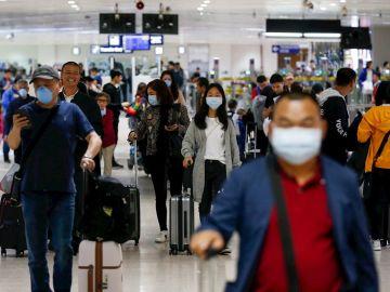 Aeropuerto Internacional Ninoy Aquino en Manila, Filipinas