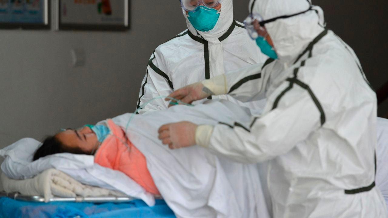 Una paciente con coronavirus