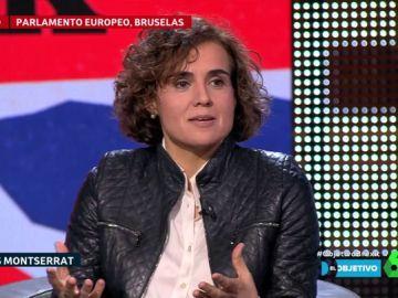 """Dolors Montserrat: """"No me imagino a Merkel ni a Macron pactando con gente que está en la cárcel"""""""