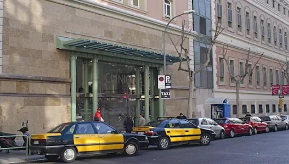 Imagen de archivo del hospital Clinic de Barcelona