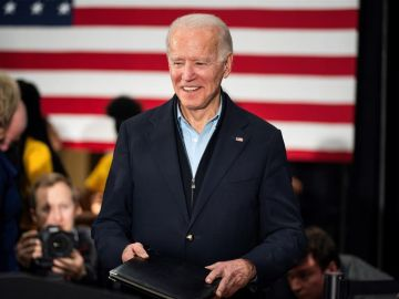 Joe Biden, exvicepresidente de EEUU