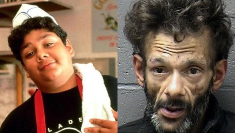 Imagen del antes y después de Shaun Weiss