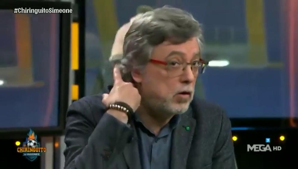 La surrealista apuesta que cumplirá José Damián si el Atlético vence al Liverpool