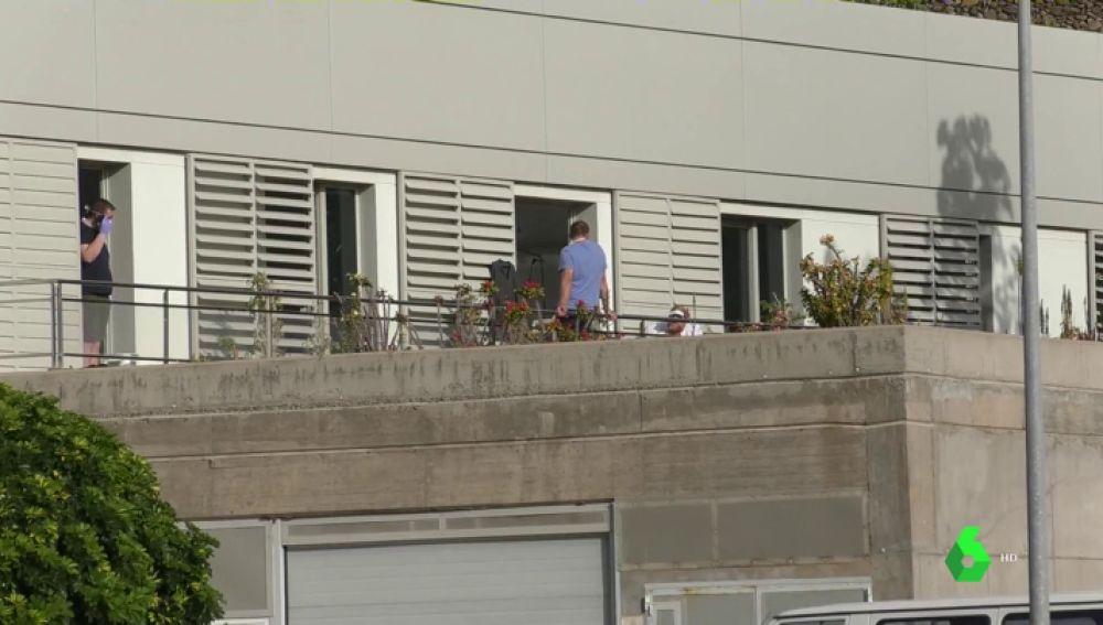 Turistas en observación en La Gomera